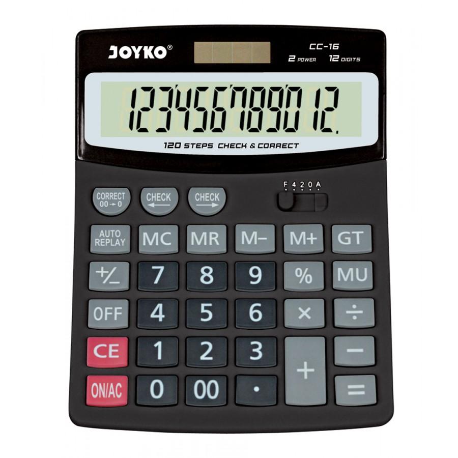 Joyko Calculator Kalkulator Kalkulator Cc 16