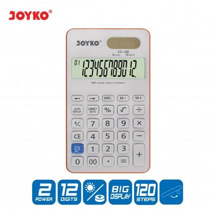 joyko Calculator Kalkulator Kalkulator CC-38