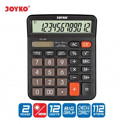 joyko Calculator Kalkulator Kalkulator CC-40