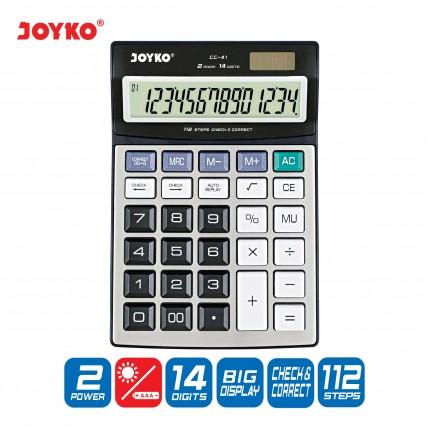 joyko Calculator Kalkulator Kalkulator CC-41