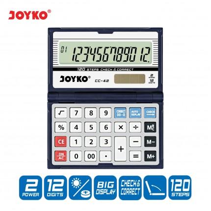 joyko Calculator Kalkulator Kalkulator CC-42