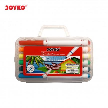joyko Pen Pena Color Brush Pen Color Brush Pen Color Pen CLP-04