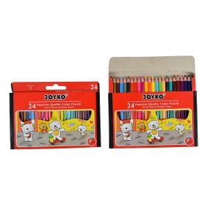 joyko Pencil Pencil Color Pencil Pensil Warna Color Pencil CP-S24