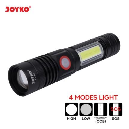 joyko LED Flashlight Senter LED Senter LED FL-87