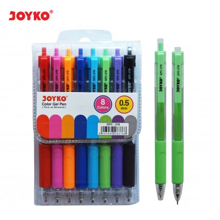 joyko Pen Pena Color Pen Pena Warna Color Gel Pen GPC-278