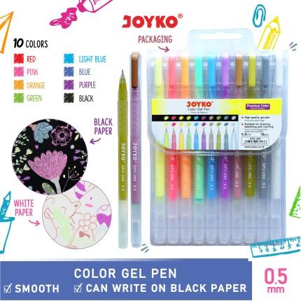 joyko Pen Pena Color Pen Pena Warna Pena Jel Warna GPC-299 (Diamond Art)