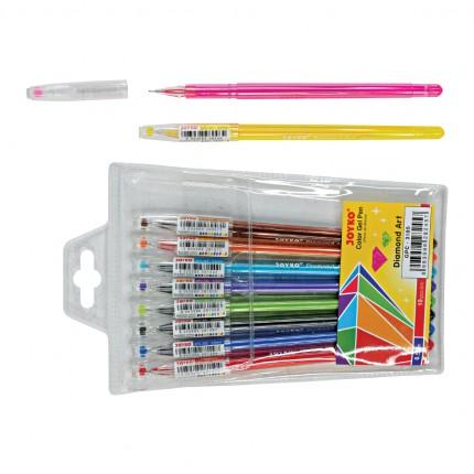 joyko Pen Pena Color Pen Pena Warna Color Gel Pen GPC-310S