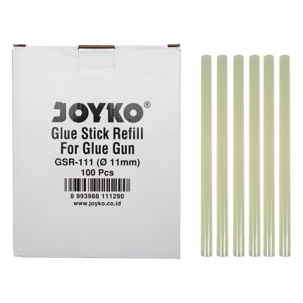 joyko Glue Lem Glue Stick Refill  Isi Ulang Lem Tembak Glue Stick Refill GSR-111