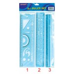 Ruler Set RLS-A3