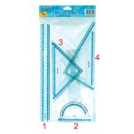 Ruler Set RLS-T4