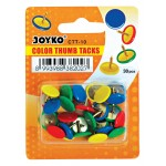 Color Thumb Tacks CTT-10