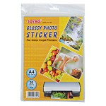 Glossy Photo Sticker GSS-A4-160