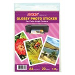 Glossy Photo Sticker GSS-A4-145