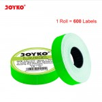 Label LB-10 (2 baris, Cah-Cah, fluorescent green)