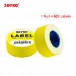 Label LB-1LY (1 baris, Yellow)