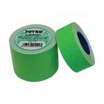 Label LB-9 (1 baris, fluorescent green)
