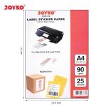 Kertas Label stiker LSP-09 (A4)