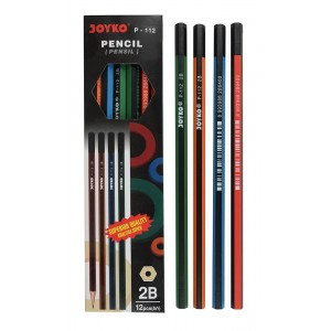 joyko Pencil Pencil Wooden Pencil Pensil Kayu Pencil P-112