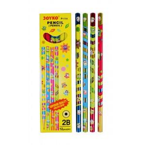 joyko Pencil Pencil Wooden Pencil Pensil Kayu Pencil P-114