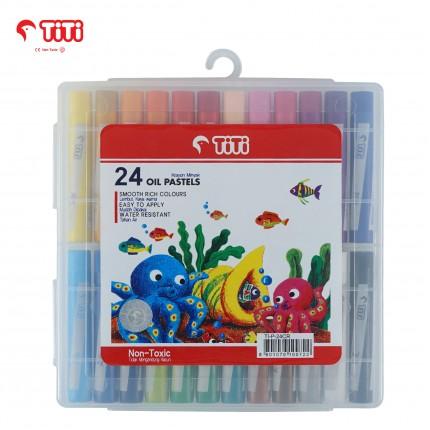 joyko Crayon Crayon Oil-Pastel TI-P-24CR (24 Colors)