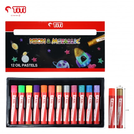 joyko Oil Pastel Oil Pastel Oil-Pastel PL-12NM (12 COLORS)