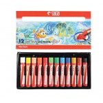 Oil-Pastel PL-12WS (12 Colors) Water Solube