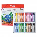 Premium Crayon PRC-24CD (24 Colors)