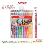 Paper Roll Crayon ROCR-12S (12 Color)