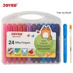 Silky  Crayon SLC-A-24 (24 Color)
