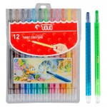 Twist Crayon TI-CP-12T (12 Colors)