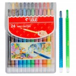 Twist Crayon TI-CP-24T (24 Colors)