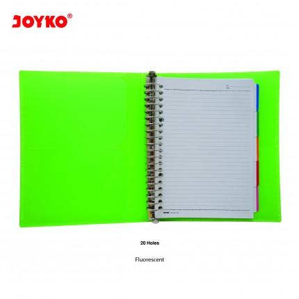 joyko Binder Note Binder Note Binder Note A5-TSFL-M504