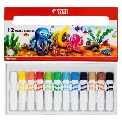 joyko Water Color Water Color Water Color WC-6ML-12 (12 Colors)