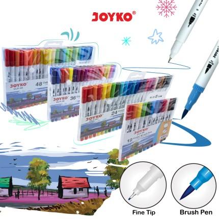 joyko Pen Pena Color Brush Pen Color Brush Pen Color Brush Pen CLP-06~40